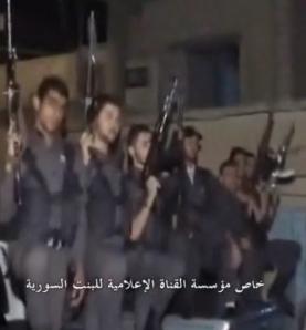 Χριστιανοί της Συρίας πήραν τα όπλα