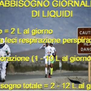 Personal Trainer Bologna Stefano Mosca fabbisogno idrico dello sportivo