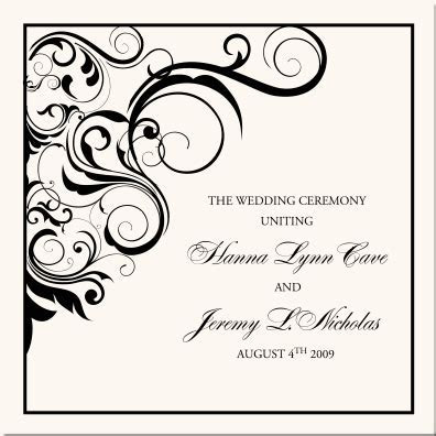 Vintage Monogram Wedding Programs Wedding Ceremony