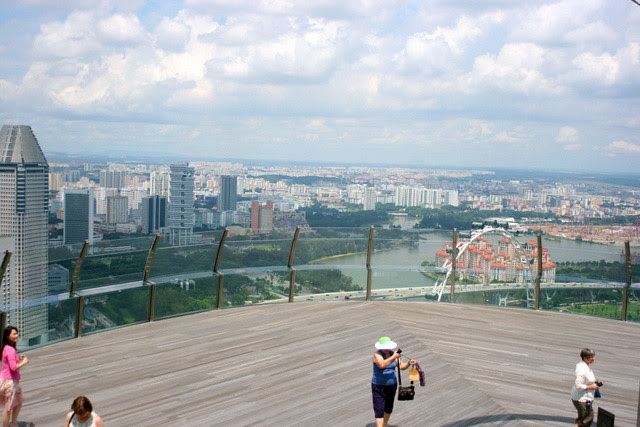 Observation deck at Skypark