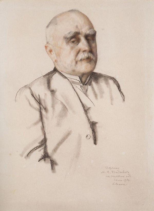 Портрет М.В.Брайкевича. 1934