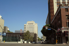 the Los Angeles Times offices