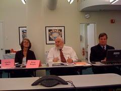 Loretta Ebert, Bernie Margolis & John Brock