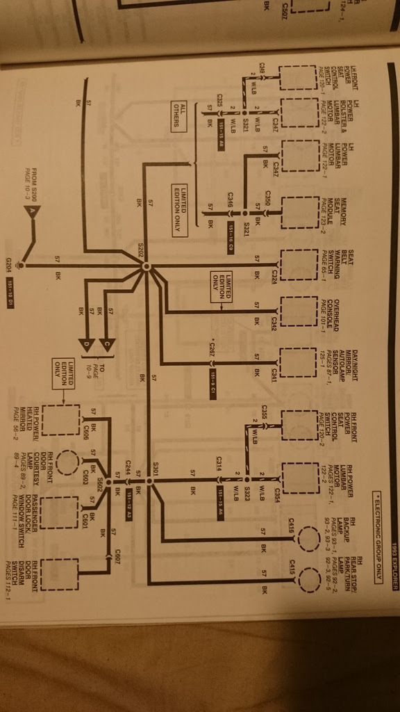 Need The Wiring Diagram For Under The Dash Steering Column 1993 Ford Explorer Ford Ranger Forums Serious Explorations