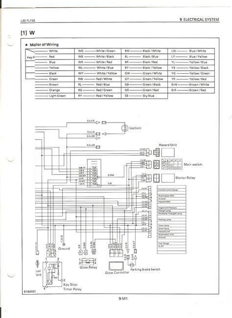 Kubotum Wiring Diagram Ignition Switch Wiring Color