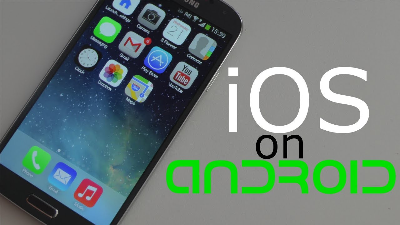 install ios on android