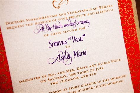 Linh's blog: Hindu Wedding Invitation Cards