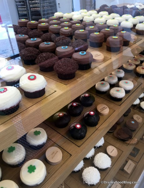 All the cupcakes!