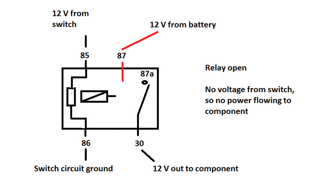 5 Pin Micro Relay Wiring Diagram