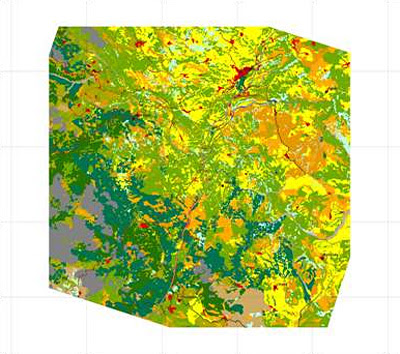 Land cover map (Egnatia Highway)