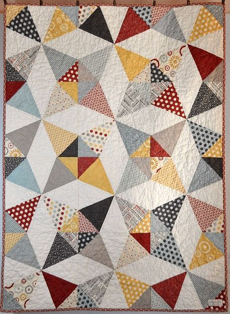 Quilt -- this can be replicated with #AccuQuilt dies