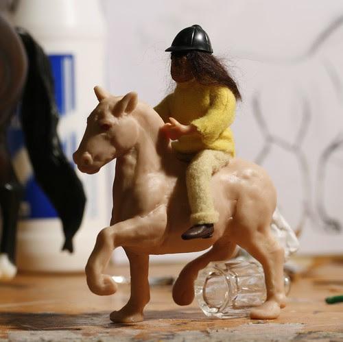 Shetland Sculpture in progress