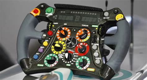 michael schumacher explains  steering wheel video