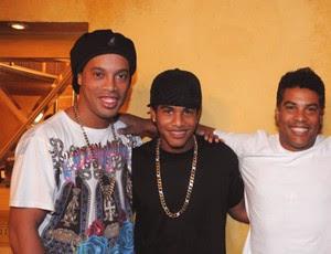 Diego Assis sobrinho do Ronaldinho (Foto: Alexandre Vidal / Fla Imagem)