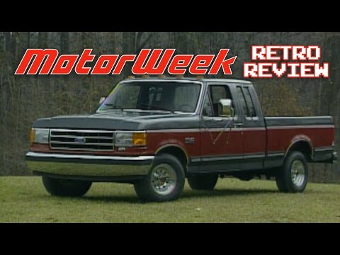 Retro Review 1991 Ford F 150 Supercab Youtube