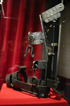 Museum of Medieval Torture Instruments: Boots