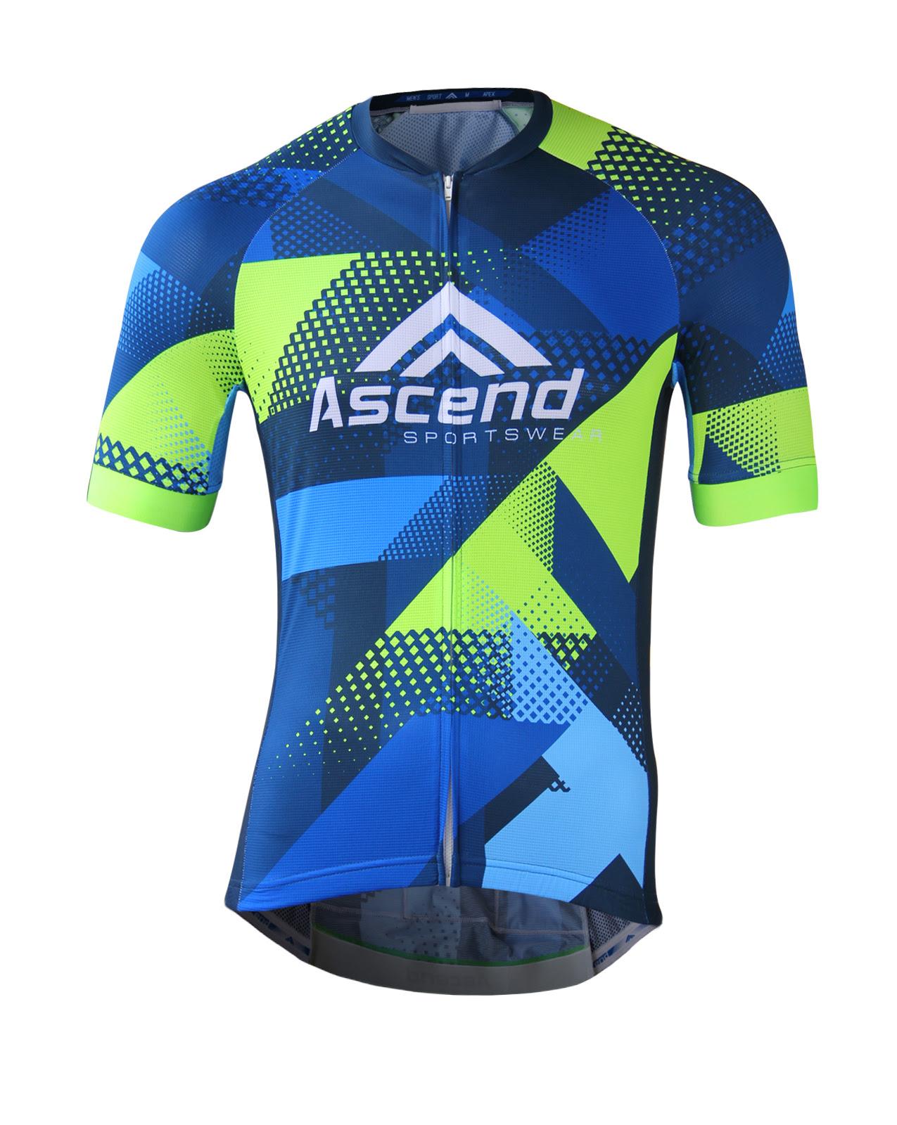 APEX Custom Cycling Jersey  Ascend Sportswear