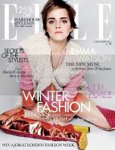 Emma Watson Elle UK November 2011