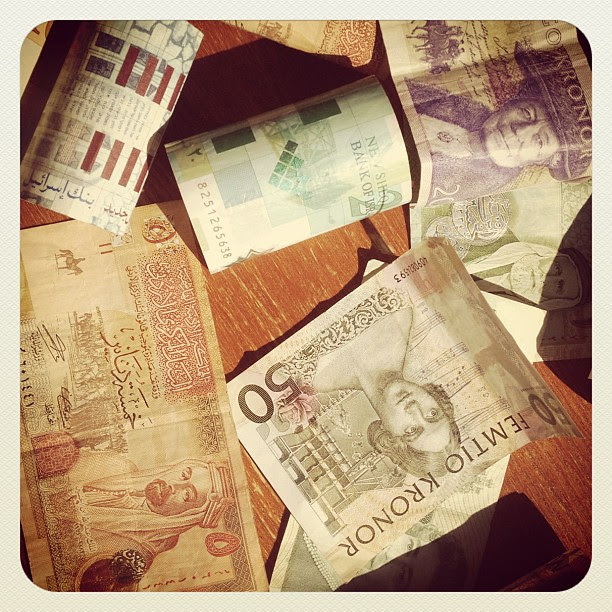 So much foreign #money that needs to be exchanged - #febphotoaday