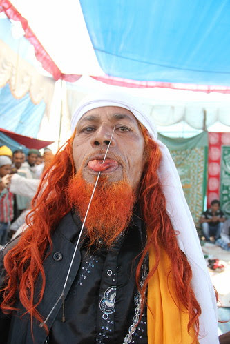 Hyder Ali Pierces His Tongue by firoze shakir photographerno1