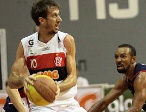 duda Flamengo x Limeira basquete (Foto: Fernando Azevedo/Fla Imagem)