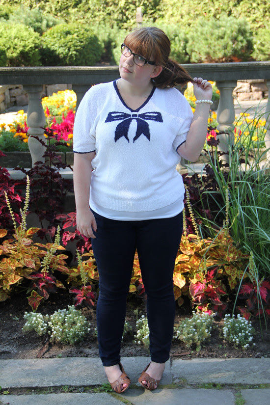 blog lovelymissmegs megan wardrobe project outfit ootd thrift glee nerd
