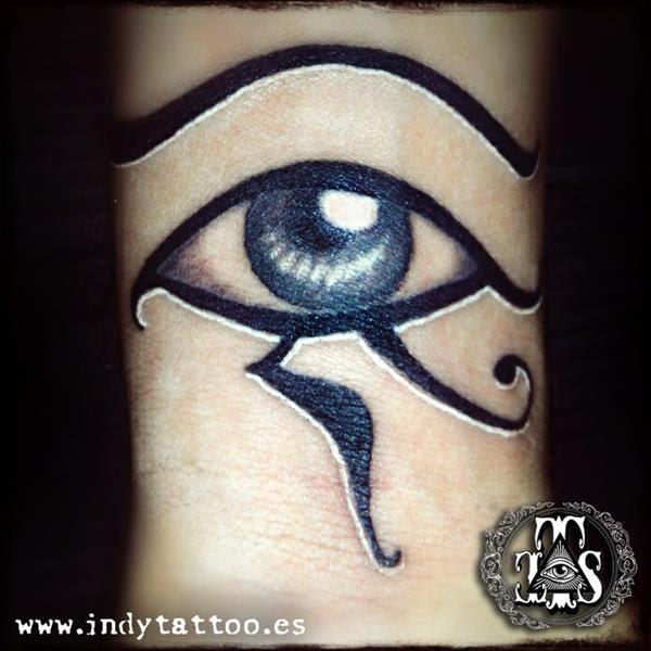 Ojo Horus Indy Tattoo Tatuajes Online