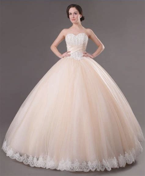 Huge Ball Gown Wedding Dresses   Buy cheap Lace Decorate