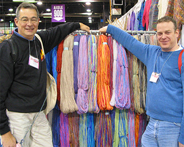 Yarn Boys are Hot, Stitches Midwest 2005