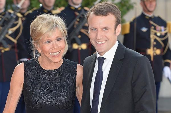 Emmanuel Macron e Brigitte Trogneux  (Foto: Getty Images)