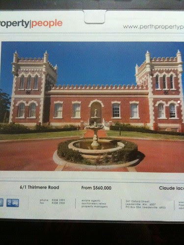 Buy a castle in Perth?