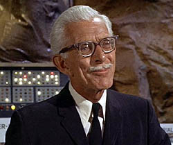 Alan Napier as Alfred in the Batman TV series.