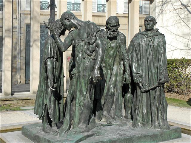 Le Monument aux Bourgeois de Calais d'Auguste Rodin (musée Rodin)