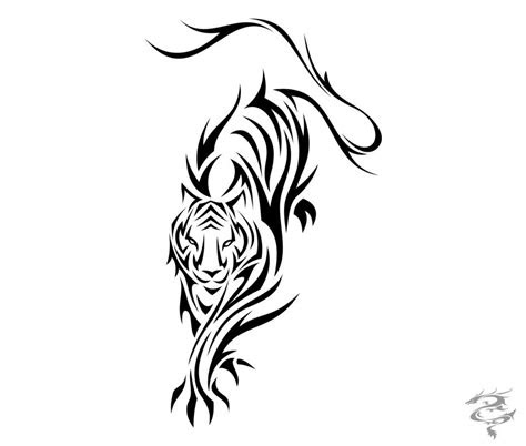 gallery simple tiger tattoo designs