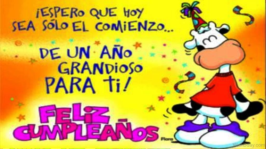 10 Birthday Wishes In Spanish