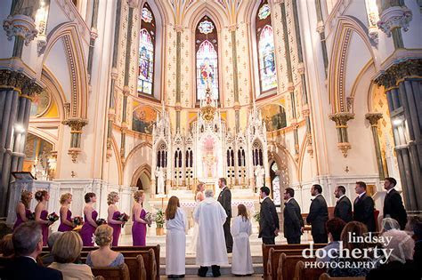 Julia   Matt's Wedding at St. John the Baptist and The Old