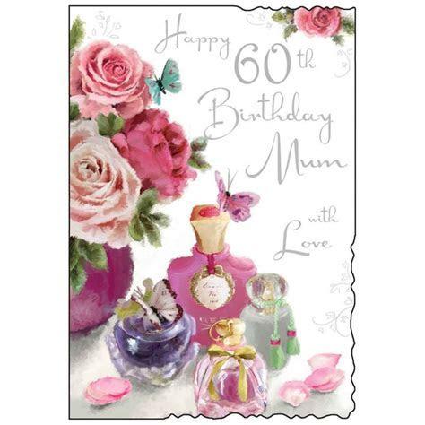 Mum 60th Birthday Card   Karenza Paperie