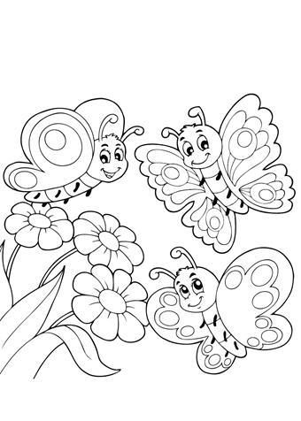 kleurplaten kleurplaten vlinders 26 gratis kleurplaten