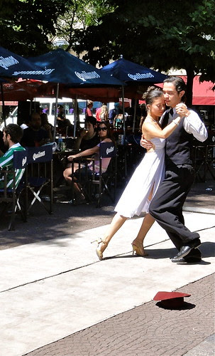 Tango on the Plaza