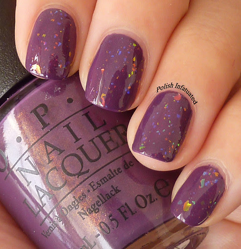 dutch ya just love opi layered with speck-tacular4