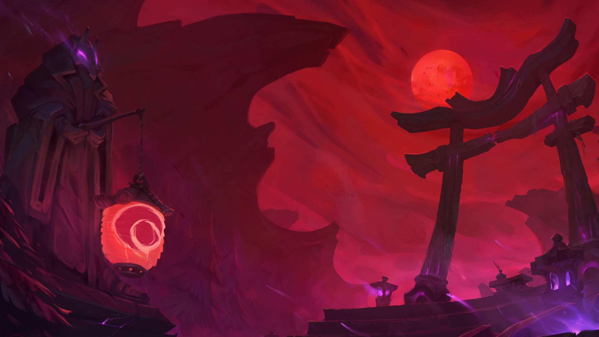 Blood Moon Wallpaper 71 Images