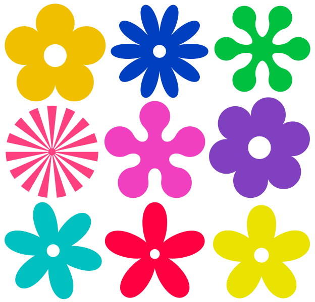 File:Retro-flower-ornaments.svg