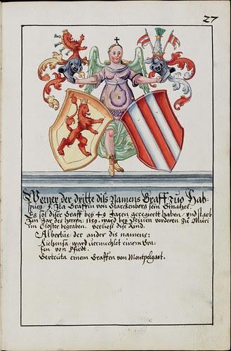 Wappenbuch des Hans Ulrich Fisch e