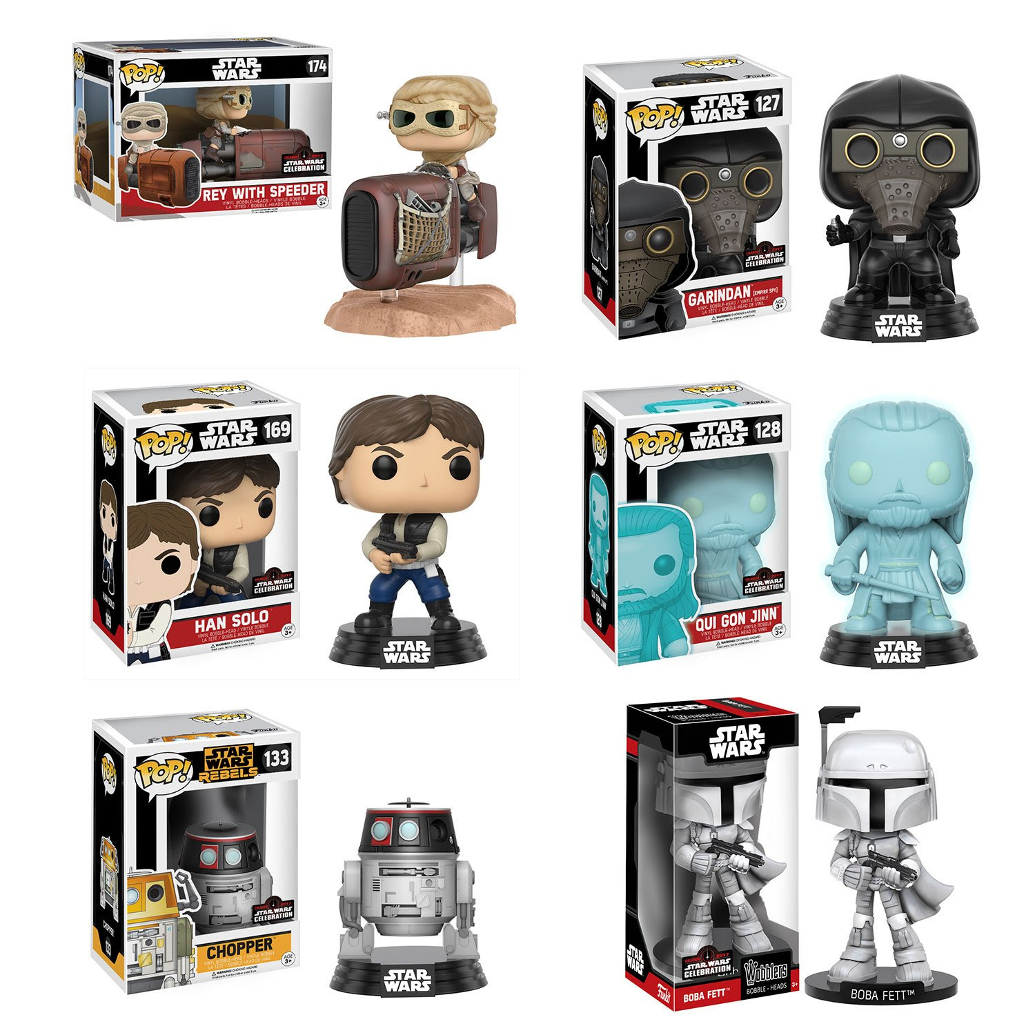 SWCO Funko Pop Exclusives & Where to Buy Them   Anakin and His Angel
