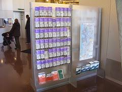 Transit Information Rack, Seattle Public Library