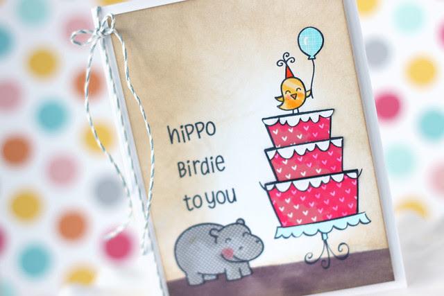 hippo birdie {lawn fawn inspiration week}