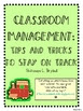 Tips and Tricks to Keep Your Class on Track (Classroom Man