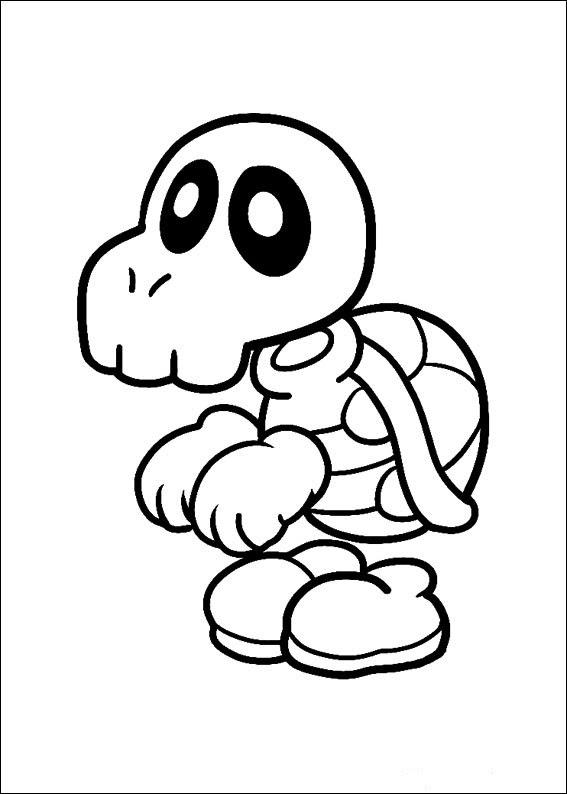 Super Mario Bros Dibujos Para Imprimir Y Colorear