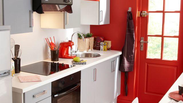 Déco Rouge Peinture Rouge Cuisine Rouge Chambre Rouge Côté