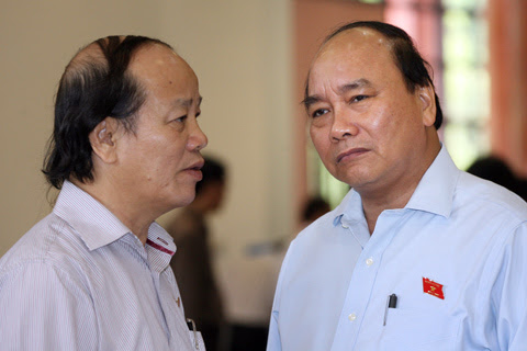 chất vấn, Nguyễn Xuân Phúc, Bộ trưởng, Chính phủ